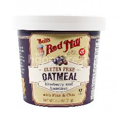 Bob's Red Mill Gluten Free Oatmeal Cup Blueberry And Hazelnut