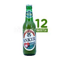 Anker Lychee (Botol) Beer 330ml 12-Pack