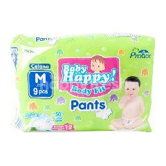 Baby Happy! Popok Celana Bayi Pas Badan Ukuran M