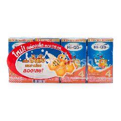 ไฮ-คิว ไฮคิว 3 พลัส นมยูเอชทีรสน้ำผึ้ง 100 มล. (แพ็ค 4)