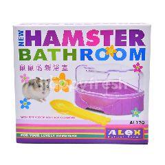 Alex Hamster Bathroom Purple