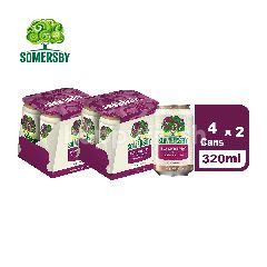 Somersby Blackberry Beer & Cider Cans (2x4s) 320ml