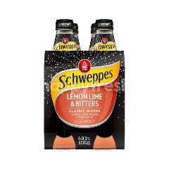 Schweppes Mixers Lemon Lime Bitters (300ml x 4)