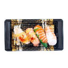Aeon Sushi Salmon Belly Mixed