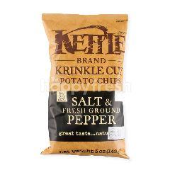 Kettle Brand Potato Chips Salt & Pepper