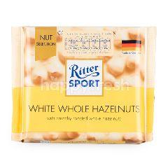 ริทเตอร์สปอร์ต ไวท์ช็อกโกแลตผสมเฮเซลนัตและข้าวพอง