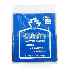 Clean Kantong Sampah Hitam Besar 81cmx89cm
