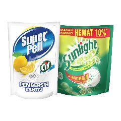 Unilever Paket Komplit Super Pell dan Sunlight
