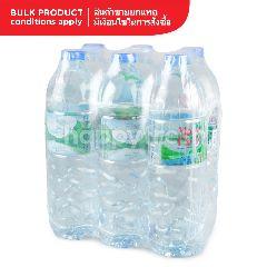 มองต์ เฟลอ น้ำแร่ธรรมชาติ 100% 1 ลิตร (แพ็ค 6)