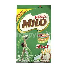 Milo Minuman Serbuk Cokelat dengan Susu Dancow 3in1