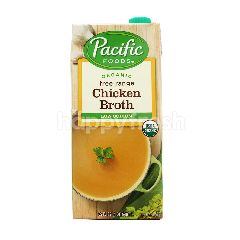 Pacific Foods Organic Low Sodium Free Range Chicken Broth 946ML