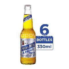 San Miguel Light 330ml (Botol) 6-Pack