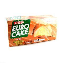 ยูโร่ เค้กสอดไส้ครีมคัสตาร์ด 17 กรัม (แพ็ค 12)