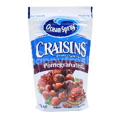 Ocean Spray Craisins Dried Cranberries With Pomegranate Juice Infused