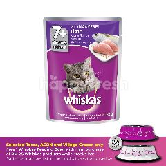 Whiskas Pouch Cat Wet Food Adult 7+ Mackerel 85G Cat Food
