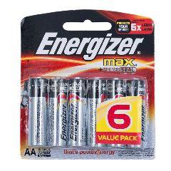 Energizer Max AA Baterai Alkaline