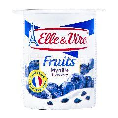 Elle & Vire Yogurt Rasa Bluberi
