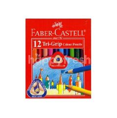 Faber Castell Colour Pencil Tri Colour Small