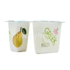 Heavenly Blush Yogurt Greek dengan Potongan Buah Pir