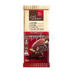 สวีทวิลเลียม สวีท วิลเลี่ยม ช็อกโกแลตแท่ง รสดาร์ค สูตรไม่มีน้ำตาล 100 กรัม