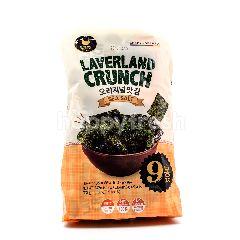 Manjun Crispy Seaweed Snack (Sea Salt) (Minions Packing)