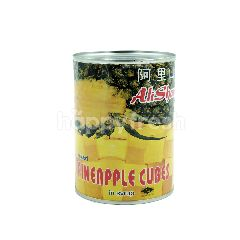 Ali Shan Mixed Pineapple Cubes In Syrup