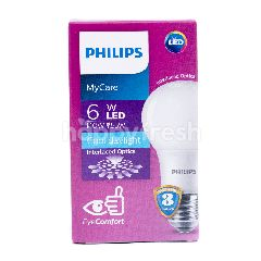 Philips My Care Lampu LED Daya 6W dan 6500k Energi