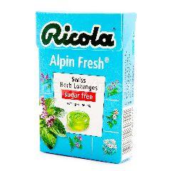Ricola Alpin Fresh Bebas Gula