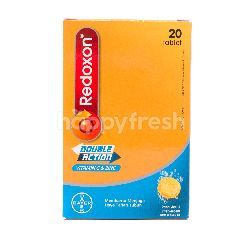 Redoxon Double Action Vitamin C & Zinc Rasa Jeruk
