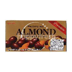 ล็อตเต้ อัลมอนด์เคลือบช็อกโกแลต 46 กรัม
