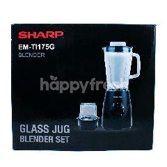 Sharp Glass Blender EM-TI175G