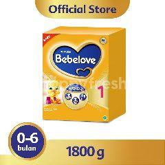 Nutricia Bebelove 1 Susu Formula Bayi 0-6 Bulan 1800g