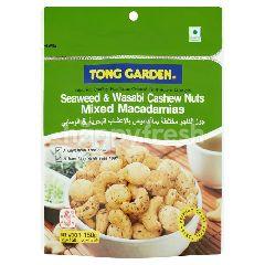 Tong Garden Seaweed & Wasabi Cashew Nuts Mixed Macadamias