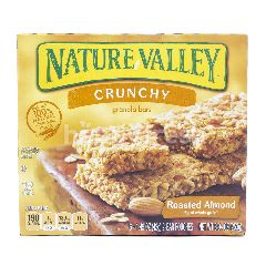 Nature Valley Crunchy Granola Bars Almond Panggang