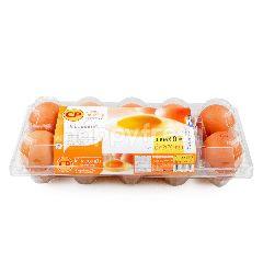 ซีพี ไข่ไก่สดอนามัย เบอร์ 0 (10 ฟอง)
