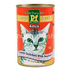 Pet Forest 4mix Seafood Diperkaya Vitamin