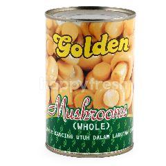 Golden Jamur Kancing Utuh