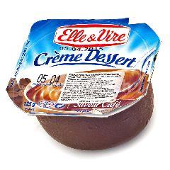 Elle & Vire Crème Dessert Kopi