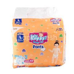 Baby Happy! Popok Celana Bayi Pas Badan Ukuran L