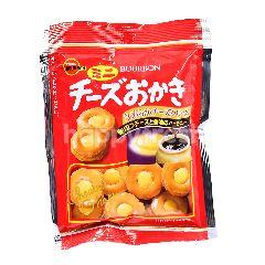 Bourbon Mini Cheese Okaki Biscuits