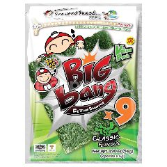 Tao Kae Noi Big Bang Grilled Seaweed With Classic Flavor Value Pack