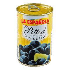 ลาเอสปาโนลา มะกอกดำไร้เม็ดในน้ำเกลือ
