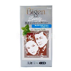 Bigen Kondisioner Pewarna Rambut dengan Herbal Alami Coklat Tua No. 883