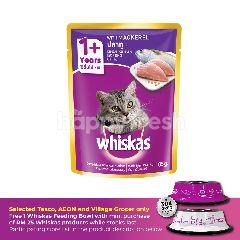 Whiskas Pouch Cat Wet Food AdultFresh Fish Mackerel 85G Cat Food