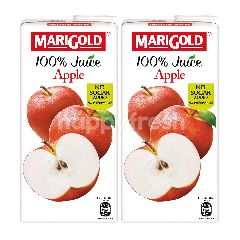 Marigold 100% Apple Juice 1L Twinpack