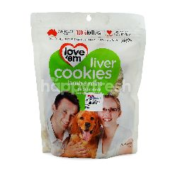 Love'em Lamb & Mint Liver Cookies For Dogs