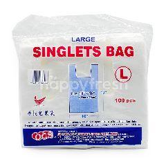 "OCS Singlets Bag Size: 16"" x 19"""