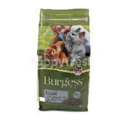Burgess Excel Light Nuggets with Mint Overweight Rabbits Food
