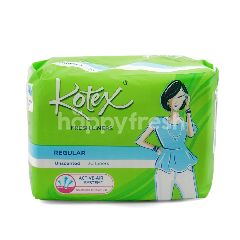 Kotex Fresh Liner Regular Unscented