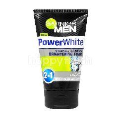Garnier Men Power White 2In1 Foaming Cleanser